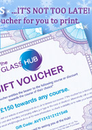 Glass Course Gift Vouchers