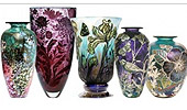 Jonathan Harris Studio Glass - Commissions - Graal, Cameo